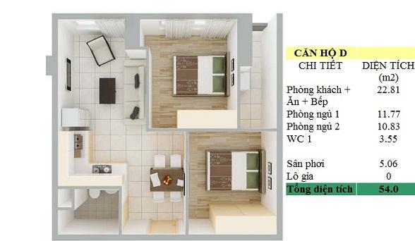 thiet-ke-can-ho-91-pham-van-hai-loai-d-dien-tich-54-m2