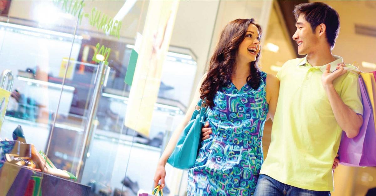 Khu mua sắm trong dự án Lavita Garden